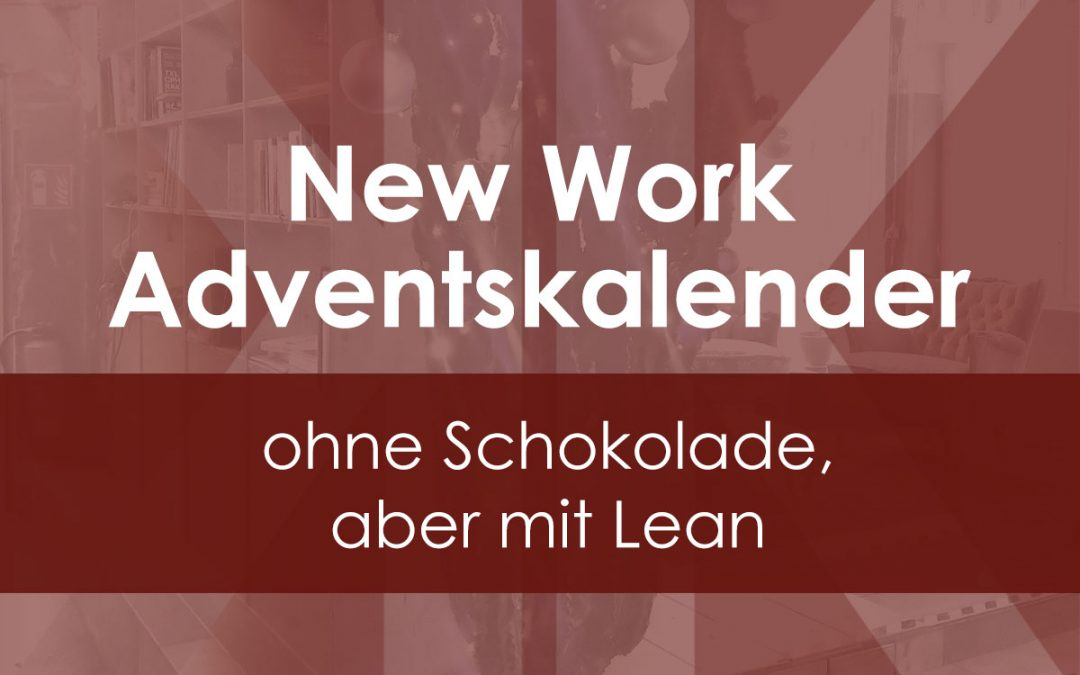 Der leane New Work Adventskalender